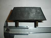 Подушка крепления радиатора ЗИЛ 5301 Бычок (3102-1001020, пр-во СЗРТ)