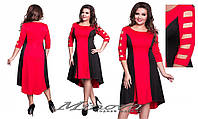 Женское платье,туника большого размера мод 290