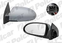 Зеркало левое эл+обогр Hyundai Accent 06-10