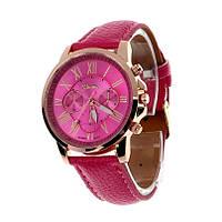 Часы наручные женские розовые Geneve
