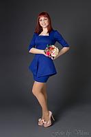 Интересная модель офисного платья 417