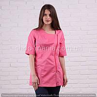 Женская медицинская блуза на молнии SM 1009 Дана