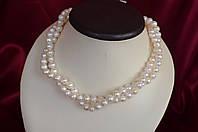 "Ожерелье из белого речного жемчуга ""Жаклин"""