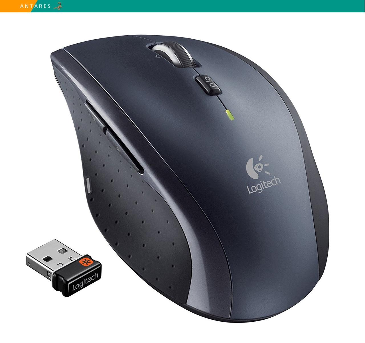 Мышь Logitech M705 Marathon Mouse беспроводная 3 года автономной работы, фото 1