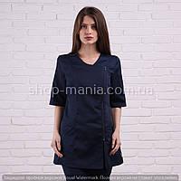 Женская медицинская блуза на молнии SM 1009-4 Дана