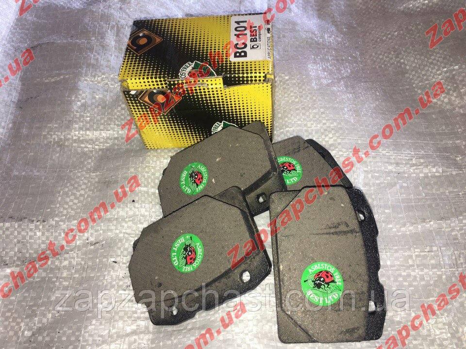 Колодки тормозные передние ваз 2101 2102 2103 2104 2105 2106 2107 Best