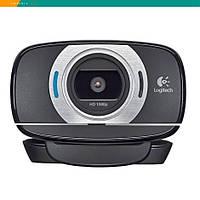 Веб-камера Logitech HD Webcam C615 Full HD 1080p складной дизайн поворотный шарнир 360-градусов