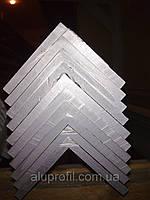 Алюминиевый профиль — уголок  размером 60х60х3 Б/П