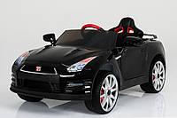 Электромобиль детский Nissan T-797 GT-R BLACK с MP3 121*61*36см