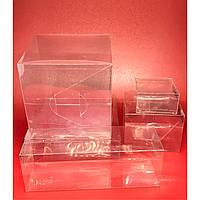 Коробка высечка из полимерной пленки. 20х15х7см