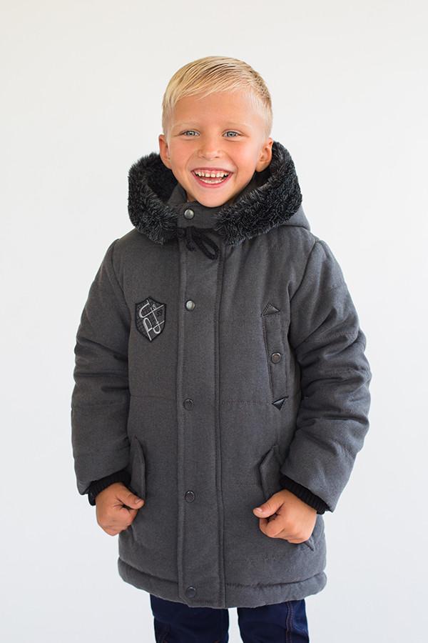 Куртка-парка зимняя для мальчика