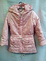 Куртка-парка на девочку