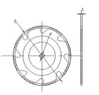 Пила дисковая для многопильных станков 500*50*18+6*3,2/4,8