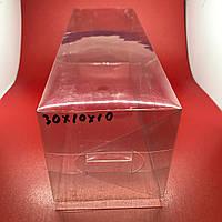 Прозрачные пластиковые упаковки. 30х10х10см