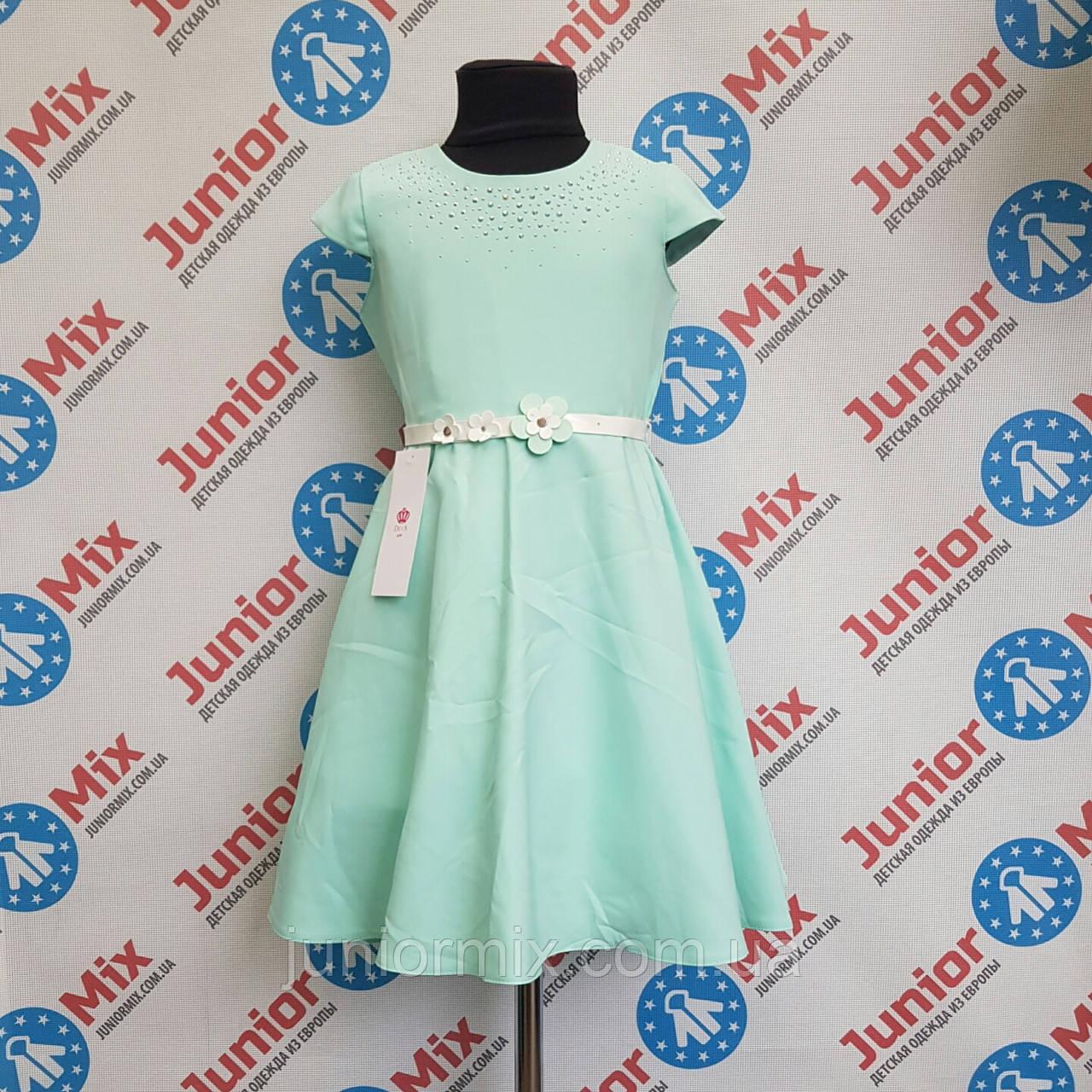 Нарядне плаття на дівчинку під пояс DEVA ПОЛЬЩА