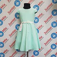 Нарядне плаття на дівчинку під пояс DEVA ПОЛЬЩА, фото 1