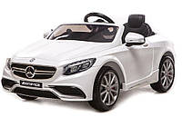 Электромобиль Mercedes на радиоправлении S63 AMG WHITE T-799 (120*70*52см)