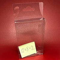 Упаковка из пластика с европодвесом. 12х8х2см