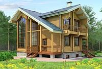Продается экологический дом с террасой, камином и барбекю 160 м2