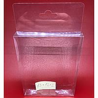 Упаковка для сувениров с европодвесом. 15х12х2см