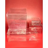 Подарочные коробки из полимерной пленки. 8х8х3см