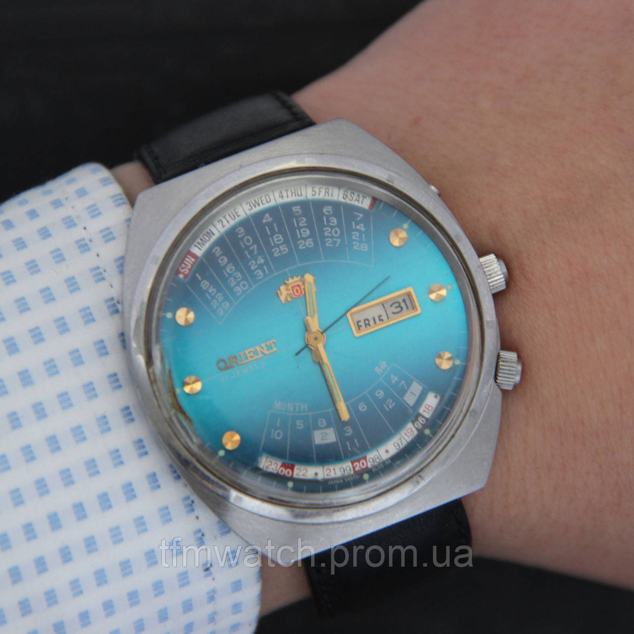 d5963472 Orient Ориент Колледж наручные часы с автоподзаводом Япония - Магазин  старинных, винтажных и антикварных часов