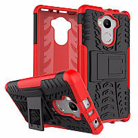 Чехол Armor для Xiaomi Redmi 4 Prime / Redmi 4 Pro / Redmi 4 противоударный бампер красный