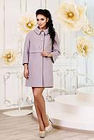 Демисезонное женское пальто В-1015 Aрт.160416 Тон 19 44-54 размер
