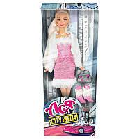 """Кукла Ася шарнирная """"Городской стиль"""", 28 см, брюнетка, 35068"""