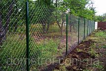 Забор из сетки рабица, фото 3
