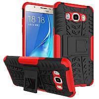 Чехол противоударный для Samsung J5 2016 J510 J510H бампер красный