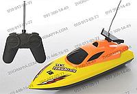 Катер MX-0013-2, радиоуправление, 24 см, на батарейках, радиус действия 30 м, скорость 5 км/ч, в коробке