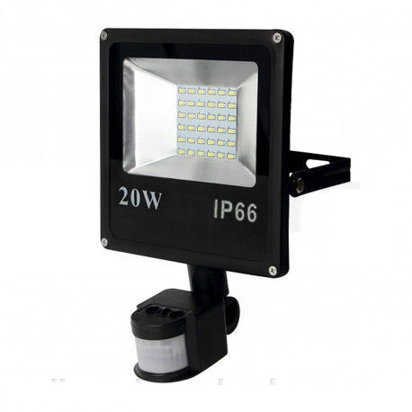 Прожектор LED SMD-20W-Slim+sensor