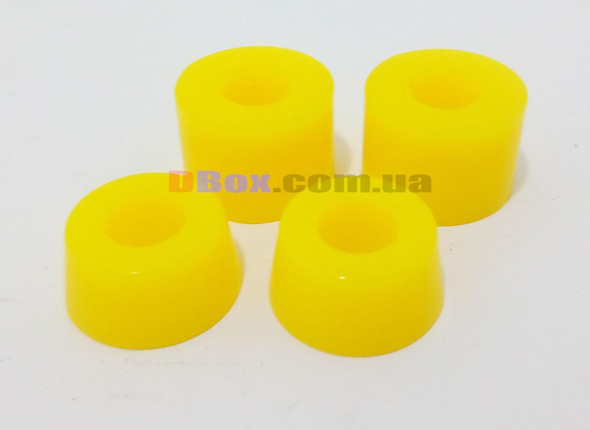 Жорсткі Бушінги. 2 Комплекти амортизаторів для скейтборда та пенні борда ( 2 верхніх та 2 нижніх гумки ) (2T7036)
