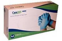 Однразовые перчатки нитриловые «Care 365»