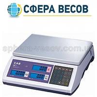 Весы электронные торговые CAS-ER-Plus E (6 кг)