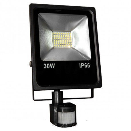 Прожектор LED SMD-30-Slim+sensor
