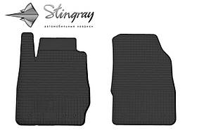 Ford Fiesta  2013- Комплект из 2-х ковриков Черный в салон. Доставка по всей Украине. Оплата при получении
