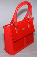 Красная женская сумочка B.Elit