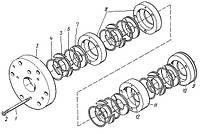 Сальник компрессора 2ВМ10-63/9, 4ВМ10-120/9