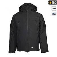 M-Tac куртка SOFT SHELL С ПОДСТЕЖКОЙ BLACK, фото 1