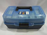 Ящик рыбацкий 1702 2-х полочный, фото 1