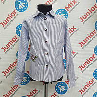 Рубашка на девочку в полосочку  Talka