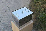 Коптильня из нержавеющей стали (400х300х280), фото 2