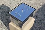 Коптильня из нержавеющей стали (400х300х280), фото 5