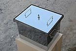 Коптильня из нержавеющей стали (400х300х280), фото 6