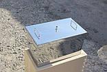 Коптильня велика з гідрозатворів з нержавіючої сталі (520x300x280), фото 3