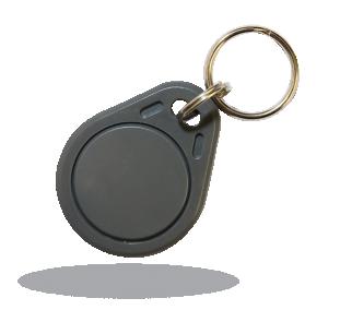 PC-02B RFID-карта в виде брелка, черная