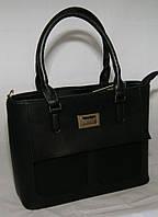 Чёрная женская сумочка B.Elit