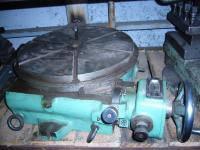 Стол поворотный круглый горизонтальный 7204-0023-01 диаметр планшайбы 400 мм.